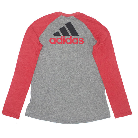 Girls Campus Raglan by Adidas - Grey - LS