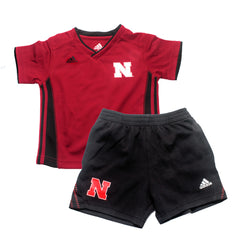Nebraska Husker Kick-Off Performance Top & Short Set by Adidas