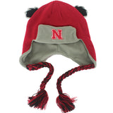 Toddler Nebraska Ears Trooper by Adidas - Red