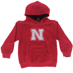 Toddler Nebraska Prime Hoody - LS - Red