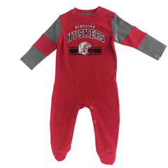 Nebraska Huskers MVP Coverall - LS - Red