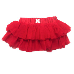 Girls Nebraska TuTu by Adidas - Red