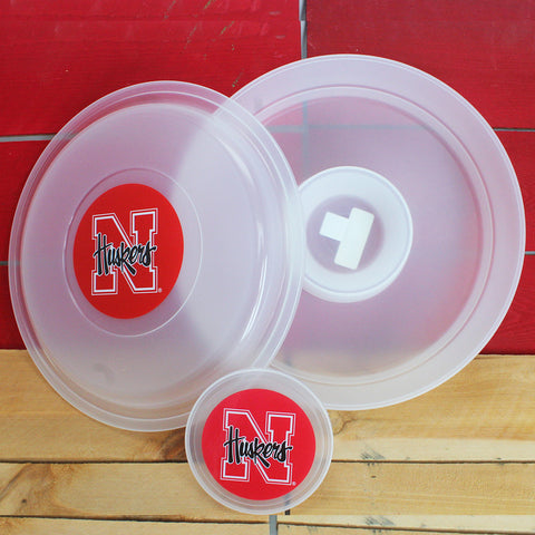 Nebraska Huskers Chip and Dip Container