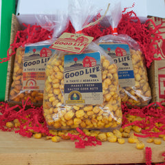Spicy Market Fresh Roasted Nebraska Corn Nuts Gift Box
