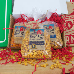 Mild Market Fresh Roasted Nebraska Corn Nuts Gift Box