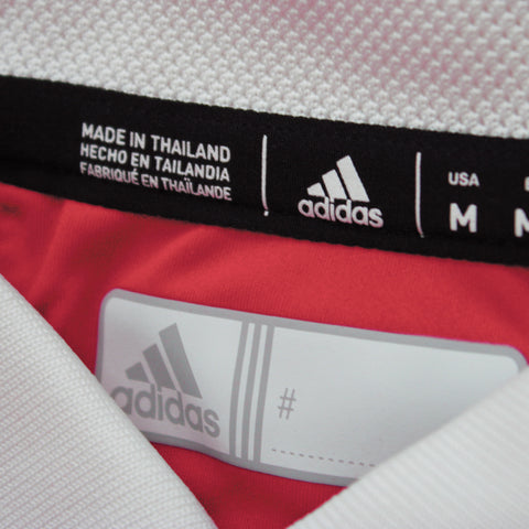 Sideline Coaches Polo by Adidas-SS-Red