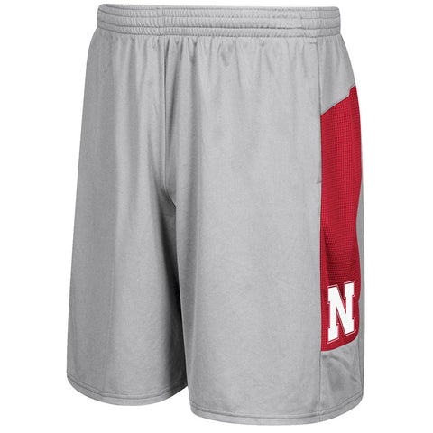 Sideline Team Training Shorts by Adidas-Grey