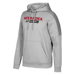 2017 Men's Sideline Team Issue Fleece Pullover Hoody by Adidas-LS-Heather Grey