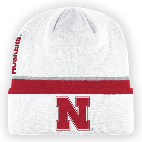 Men's White Coaches Cuff Beanie by Adidas