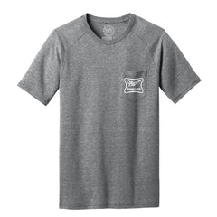 "1 LEFT! Men's ""Nebraska Good Life"" Pocket Tee-Grey"