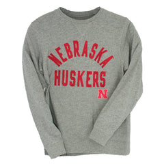 Men's MVP Crew Neck Sweatshirt-LS-Grey