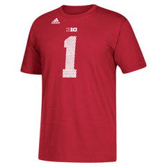 Men's Alternative #1 Replica Jersey Cotton Tee by Adidas-SS-Red