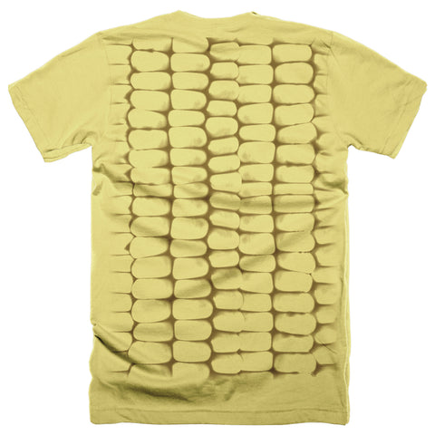 Men's Home Grown Corn Shirt-SS-Yellow