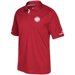 Men's 97 Champs Sideline Climachill Polo by Adidas-SS-Red