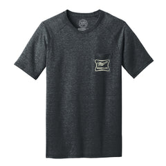 "Men's ""Nebraska Good Life"" Pocket Tee-Charcoal"
