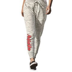 Nebraska Women's Melange Fleece Jogger Pant