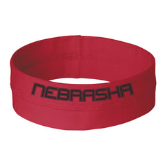 Women's Nebraska Competitor Headband Red