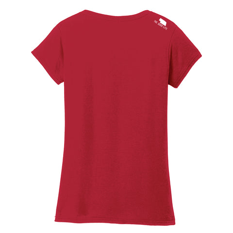 Women's Nebraska is Home Tee - SS - Red