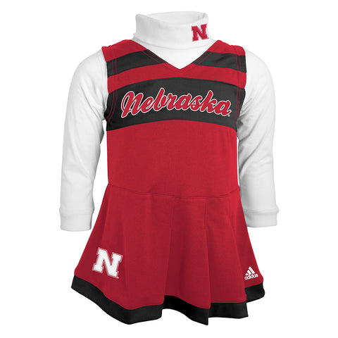 Future Husker Cheerleading Outfit by Adidas-LS-Red