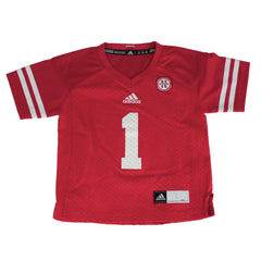 Kids #1 Replica Jersey by Adidas-Red