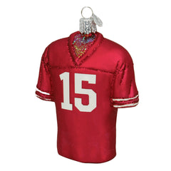 Nebraska Football Jersey Ornament