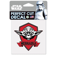 4X4 Nebraska Yoda Star Wars Decal