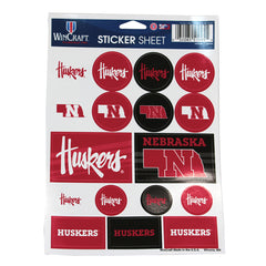 Huskers Sticker Sheet