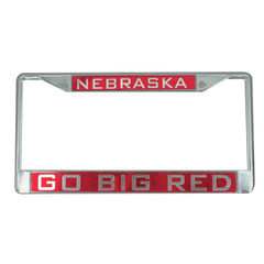 Nebraska Go Big Red License Plate Frame
