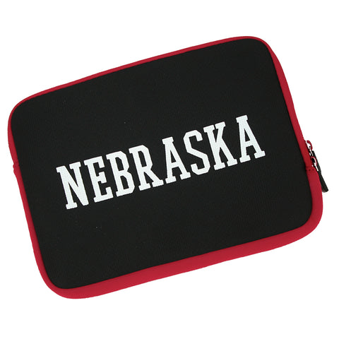 Nebraska Zippered Tech Tablet Sleeve