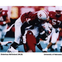 Octavious McFarland Autograph Photo 8X10