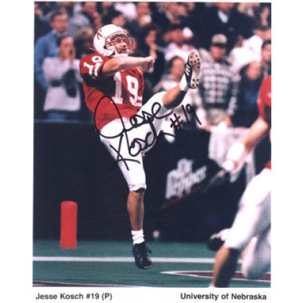 Jesse Kosch Autograph Photo 8X10