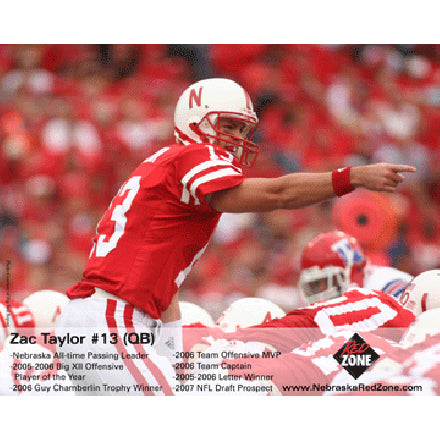 Zac Taylor Autographed Photo