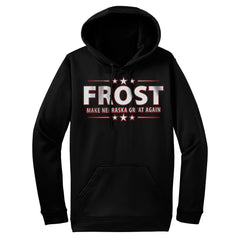 Men's Frost Make Nebraska Great Again Hooded Sweatshirt-Black