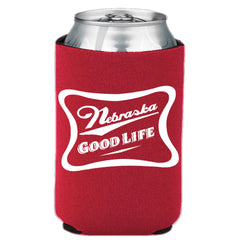 Nebraska Good Life Can Koozie