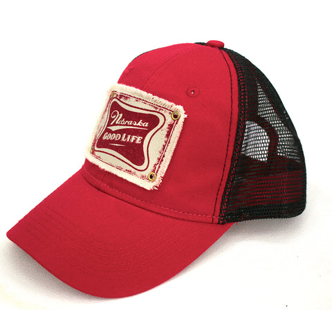 Men's Unstructured Twill Trucker Hat