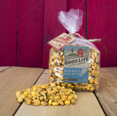 Sea Salt Market Fresh Roasted Nebraska Corn Nuts Bag [10oz]