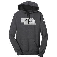 1 LEFT! Women's Home Hoodie -Charcoal Heather