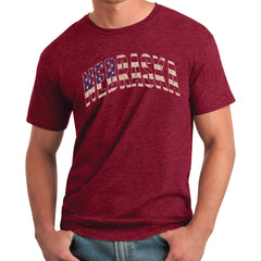 Nebraska Flag Tee - SS - Red
