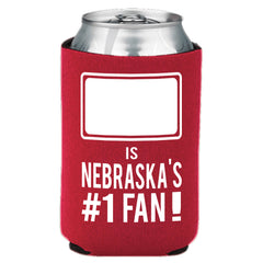Nebraska #1 Fan Can Koozie