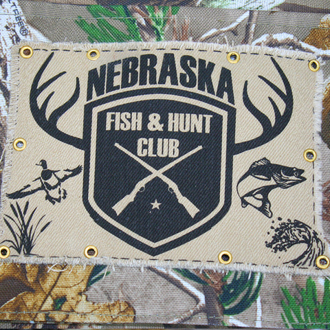 Real Tree Nebraska Hunt and Fish Club Gun Case