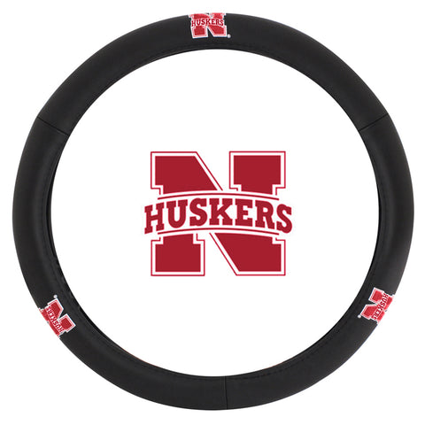Husker Massage Grip Steering Wheel Cover