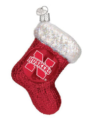 Nebraska Stocking Ornament
