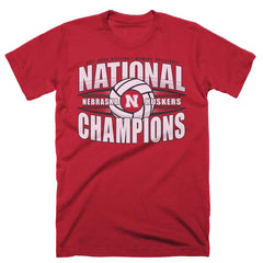 Nebraska Huskers Women's National Volleyball Champions-Red