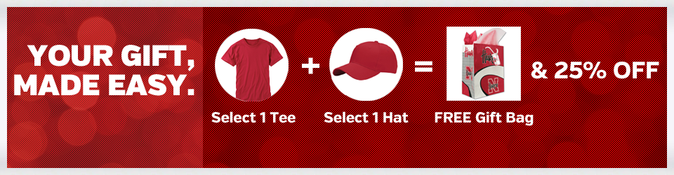 Save 25% of Huskers Apparel and Hat Combo
