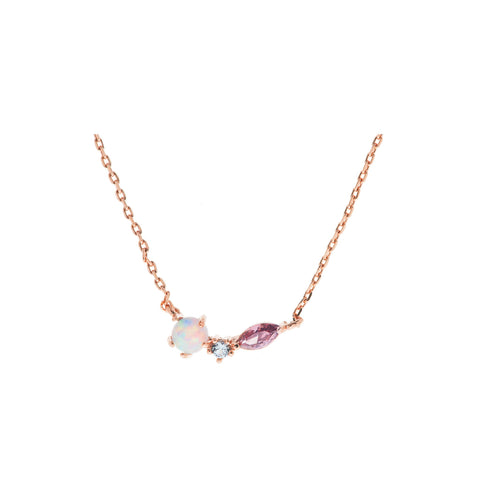 Geo Rose Necklace