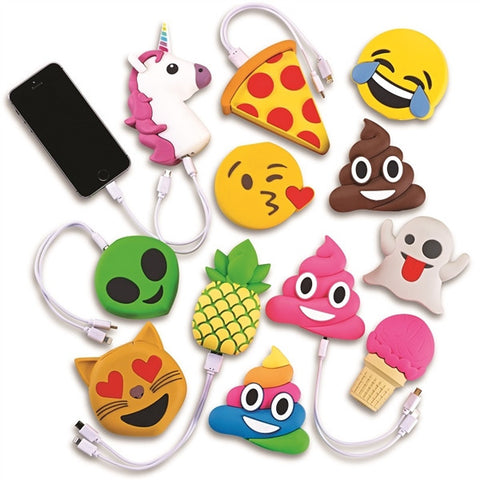 Emoji Portable Phone Charger