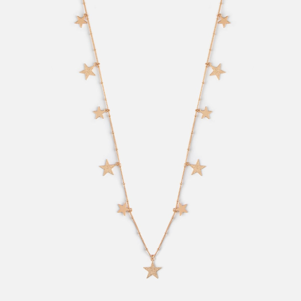 Star Charm Multi Necklace