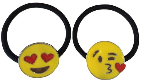 Emoji Ponytail Holder