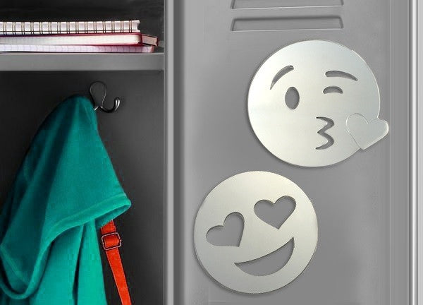 Emoji Magnetic Locker Mirror