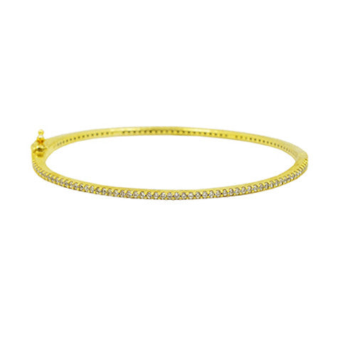 Pave All Around Bangle